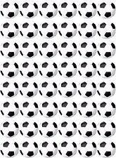 48 x Football / Soccer Pre Cut Cupcake Toppers Premium Quality Sugar Icing Sheet