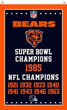 Chicago Bears Champions flag 90x150cm 3x5ft best team banner