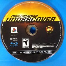 Need for Speed: Undercover (Sony PlayStation 3, 2008) Disc Only # 14574