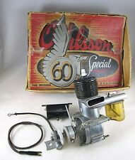 Vintage 1947 O&R 60 Special Ignition Model Airplane Engine