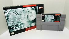 Clock Tower / Clocktower - SNES Super Nintendo Sealed in Box NTSC