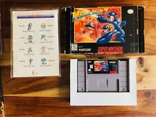 Mega Man 7 Super Nintendo SNES 1995 CIB Complete Box Manual Nice Condition RARE