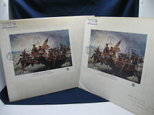 Lot of 2 Washington Crossing Delaware US Souvenir Sheet First Day Cover 24 cents