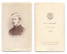 CDV Victorian Soldier Carte de Visite by Glaisby of York