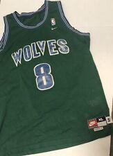 7b97a831ab5 Rare VTG Nike Latrell Sprewell Minnesota Timberwolves Sewn Jersey 90s SZ  XL+2