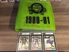 1980 81 OPC O-Pee-Chee Complete set 396/396 Gretzky 2nd Messier Gartner Bourque