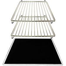 Oven Liner Baking Sheet + 2 Extendable Adjustable Shelf for KENWOOD LG BAUMATIC