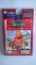 Leapfrog Leappad Pre Maths Winnie The Pooh Num Book & Cartridge NEW Tablet Songs