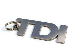 TDI Keychain Key Chain Keyring Pendant Fob Keyfob