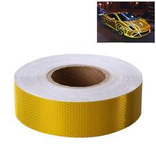 Reflektorband Gelb Reflektorfolie Warnung Selbstklebend Klebeband 5cm x 25m