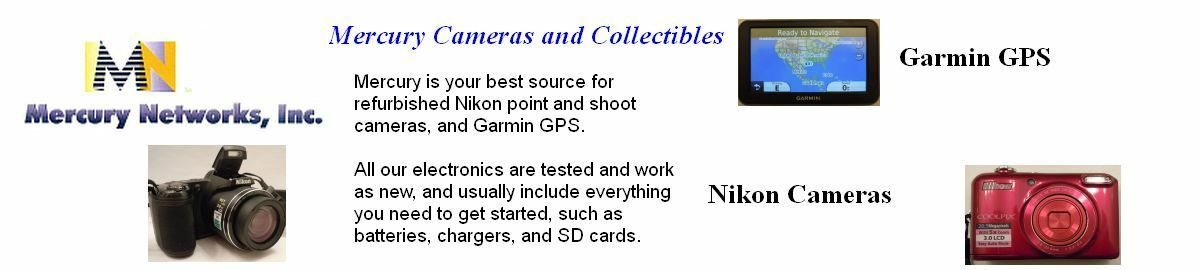 Mercury Cameras and Collectibles