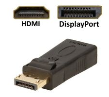 DP DisplayPort HDMI Adapter Konverter 1.2 zu HDMI 1.3 1080P mit Audioübertragung