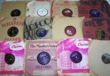 Job Lot 78s Gramophone Records Hilltoppers, Les Baxter,Vicki Young etc