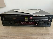 Pioneer PDR W739 Compact Disc Recorder 3 CD Changer with Manual.