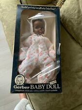 "1979 Gerber Baby Doll 17"" African American Black Original Box Toy"