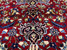 10x14 RED HAND KNOTTED PERSIAN RUG ANTIQUE ORIENTAL WOOL RUGS navy blue 10x13 ft