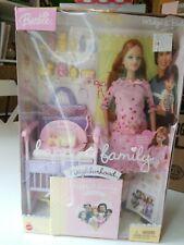 Barbie Happy Family Neighborhood Midge and baby RARE pink dress mom pregnant
