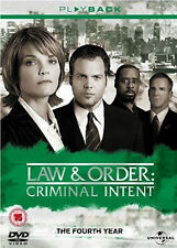 LAW & ORDER CRIMINAL INTENT COMPLETE SERIES 4 DVD Fourth Season Vincent UK New