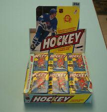 Three 1983-84 OPC Hockey Unopened Wax Packs