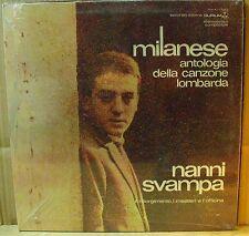 NANNI SVAMPA - MILANESE, Antologia della canzone lombarda Vol. 2 - LP Sigillato