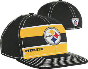 Pittsburgh Steelers NFL Official Player Sideline Scrimmage On Field Hat Cap Mens