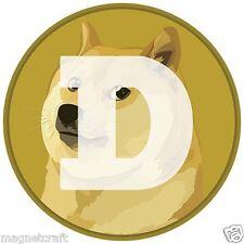One Combo set of Bit coin +Dog coin Fridge Magnet