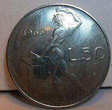 50  Lire 1966  FDCq.FDC