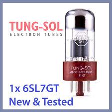 1x Tung Sol 6SL7 Tungsol TS Vacuum Tube 6SL7GT TESTED