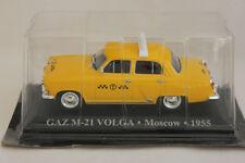 1/43 IXO Altaya TAXI GAZ M-21 VOLGA - Moscow - 1955 Car/ Automobile