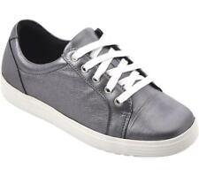 Cosyfeet Extra Roomy Jo-Jo Womens Casual Shoe Pewter Metallic (6E Width) UK 5