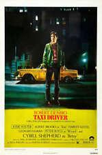 Taxi Driver Original Movie Poster. 1976