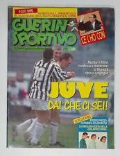 GUERIN SPORTIVO=N°10 1993= BAGGIO RAVANELLI DEL PIERO JUVENTUS BENFICA PORTO