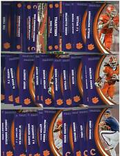 2016 Panini Clemson Collegiate Collection Complete Set 49 Cards  - NM-MT