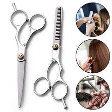 "6"" Professional Hair Cutting & Thinning Scissors Shears Hairdressing Set UK"