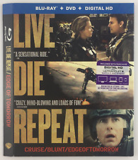 Live Die Repeat WARNER BROTHERS *Slipcover ONLY* for Blu-ray