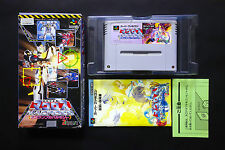 MACROSS SCRAMBLE VALKYRIE Nintendo Super Famicom SFC JAPAN Good.Condition