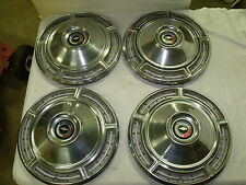 HUB CAP SET 1968 68 CHEVROLET Chevy Chevelle  14 inch hubcaps wheel covers