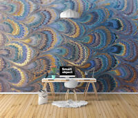 3D Texture Feather I357 Wallpaper Mural Sefl-adhesive Removable Sticker Wendy