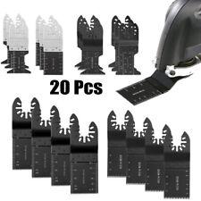 Oscillating Multi Tool Bi-metal saw blades for Fein BOSCH DREMEL DeWalt 20pcs