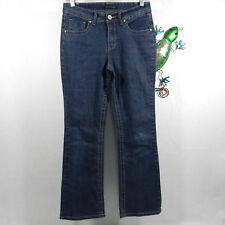ROZ & ALI Womens Jeans Boot Cut Stretch Embroidered Sz 6 Average 27x28.5