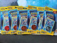 XY Evolutions Checklane Blister Pack Greninja x6 | Factory Sealed | NEW Pokemon