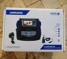🌟🎈 LOWRANCE HOOK2 4X GPS All Season Portable Pack 4'' Display 000-14179-001 🌟