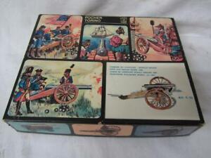 Vintage POCHER TORINO Field Gun English Model 1800 KIT Art C/03 BOXED