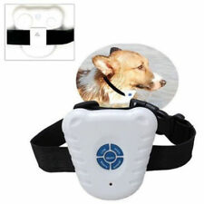 Dog Stop Barking Training Collar Pet Anti Bark Aid Control Ultrasonic Sound Mini