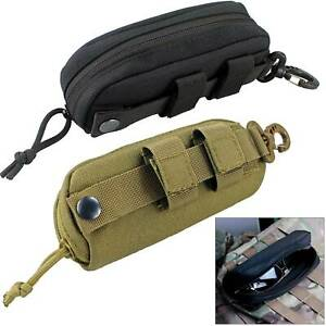 Tactical Molle Sunglasses Pouch Case Glasses Shockproof Protective Box Portable