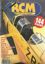 RCM N° 137 PLAN : VAVITE / CORSAIR / X 347 / WHISPER / MINI SB 13 / SPORTSTER 20