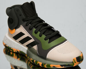 adidas Marquee Boost Mens Legend Earth Basketball Shoes Boost Sneakers EF0489