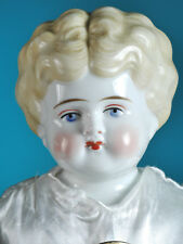 1890's China Head doll Made in Germany/ Low brown 20""