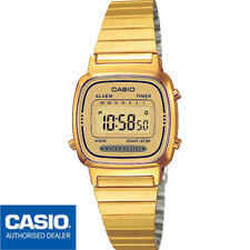 CASIO LA670WEGA-9EF*LA670WGA-9DF**ORIGINAL**RETRO*MINI*DORADO*MUJER*GOLD*VINTAGE