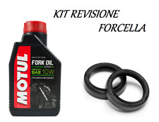 Kit motul fork oil expert olio 10w paraoli forcella Kawasaki KLX 650 1997 1998